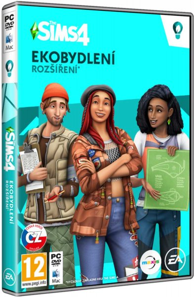 detail The Sims 4: Ekobydlení - PC