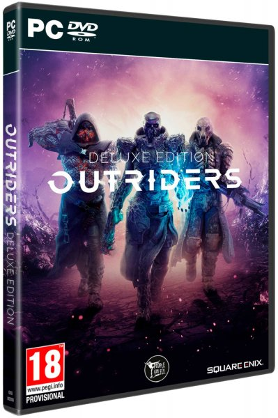 detail Outriders Deluxe Edition - PC