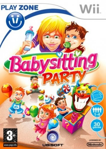 detail Babysitting Party - Wii