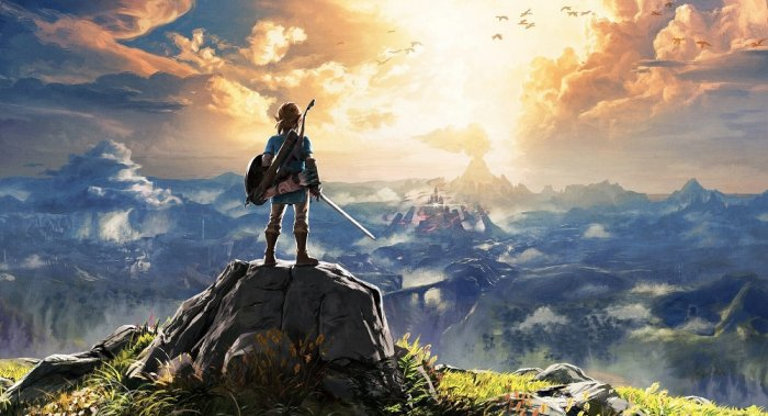 detail THE LEGEND OF ZELDA: Breath of the Wild - SWITCH