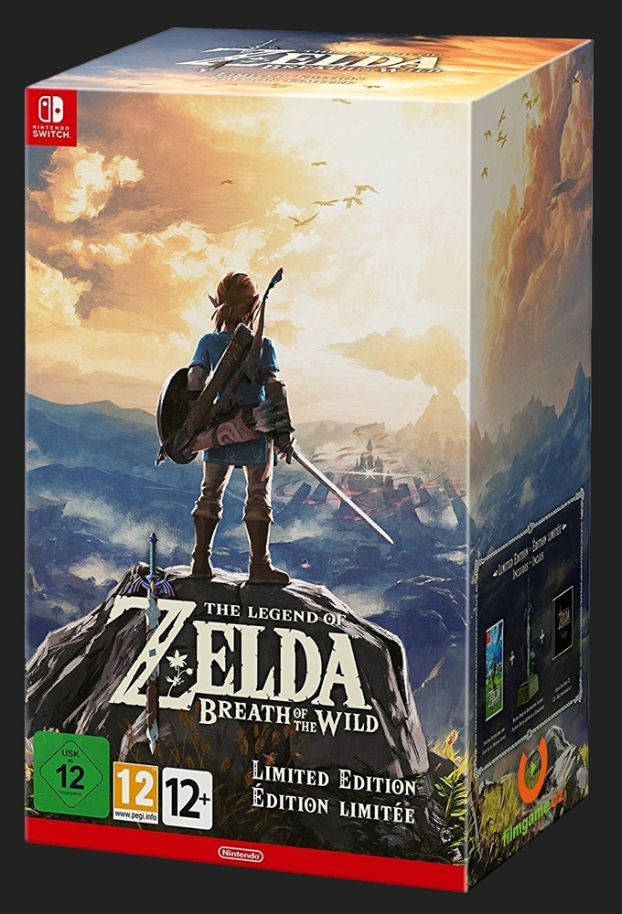 THE LEGEND OF ZELDA: Breath of the Wild (Limited Edition) - SWITCH