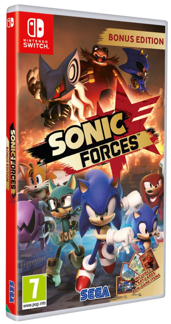 Sonic Forces (D1 Edition) - SWITCH
