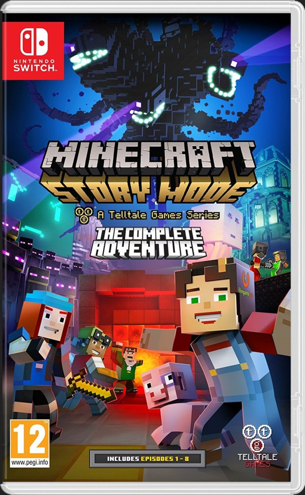 Minecraft Story Mode:The Complete Adventure - SWITCH