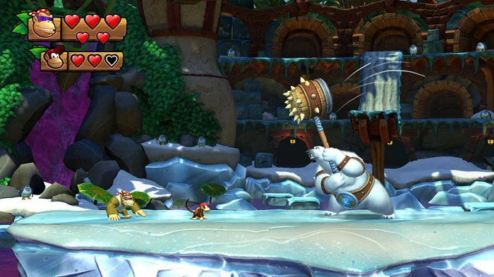 detail Donkey Kong Country Freeze - Switch
