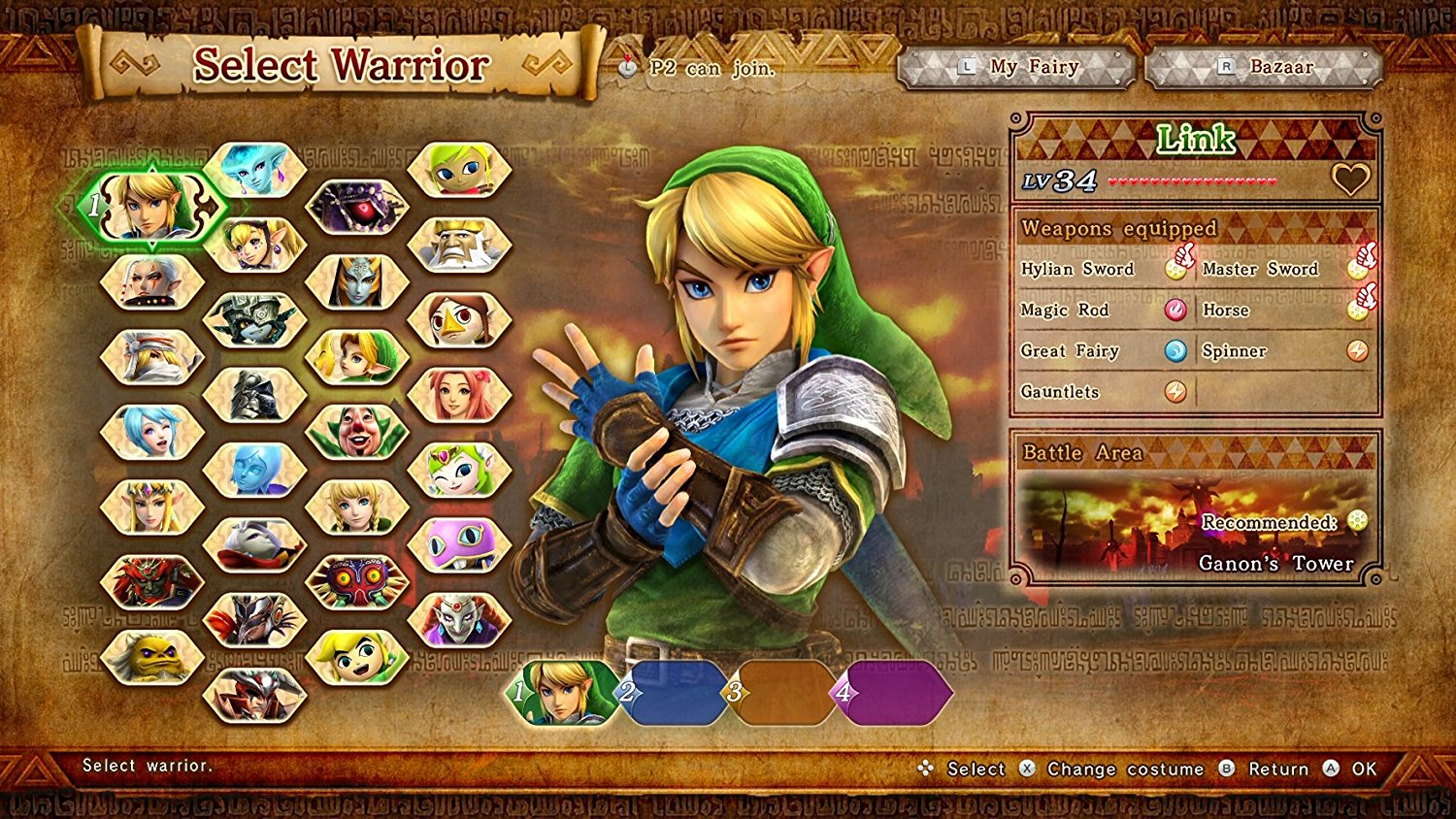 Hyrule Warriors Definitive Edition      pro Switch