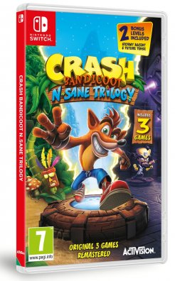 Crash Bandicoot N.Sane Trilogy - Switch