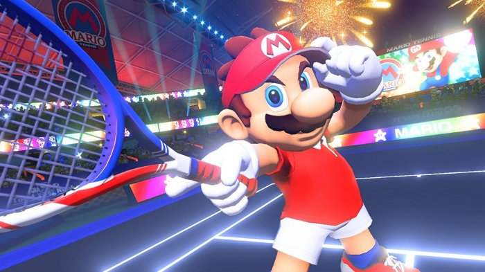 detail Mario Tennis Aces - Switch