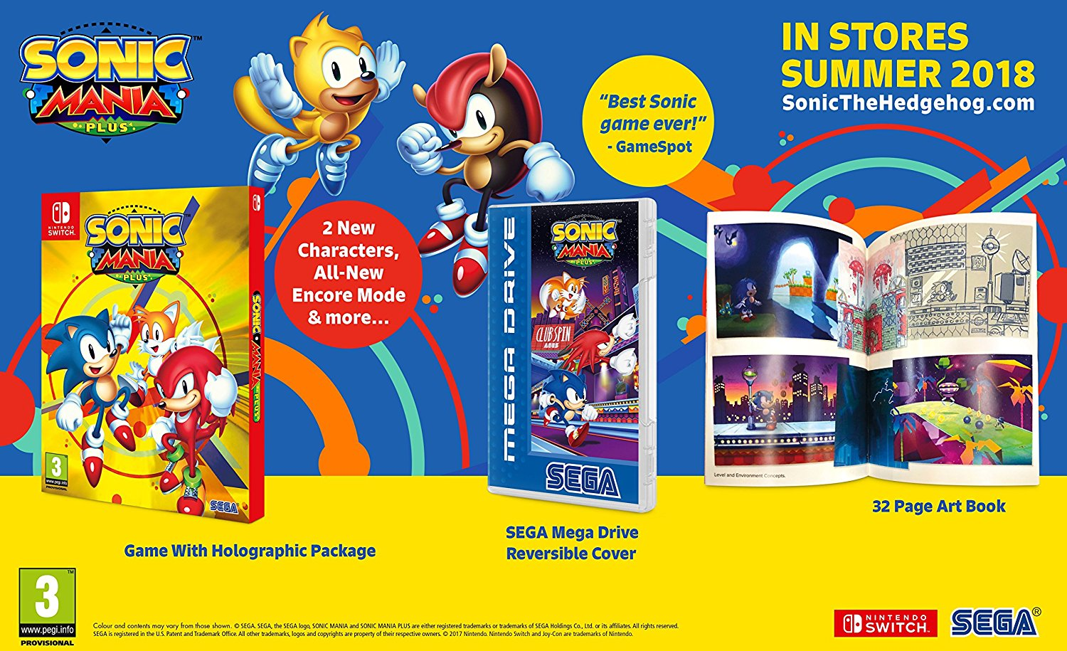 Nintendo Switch - Sonic Mania Plus