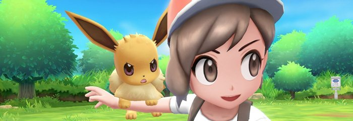 detail Pokémon Let's Go Eevee! - Switch