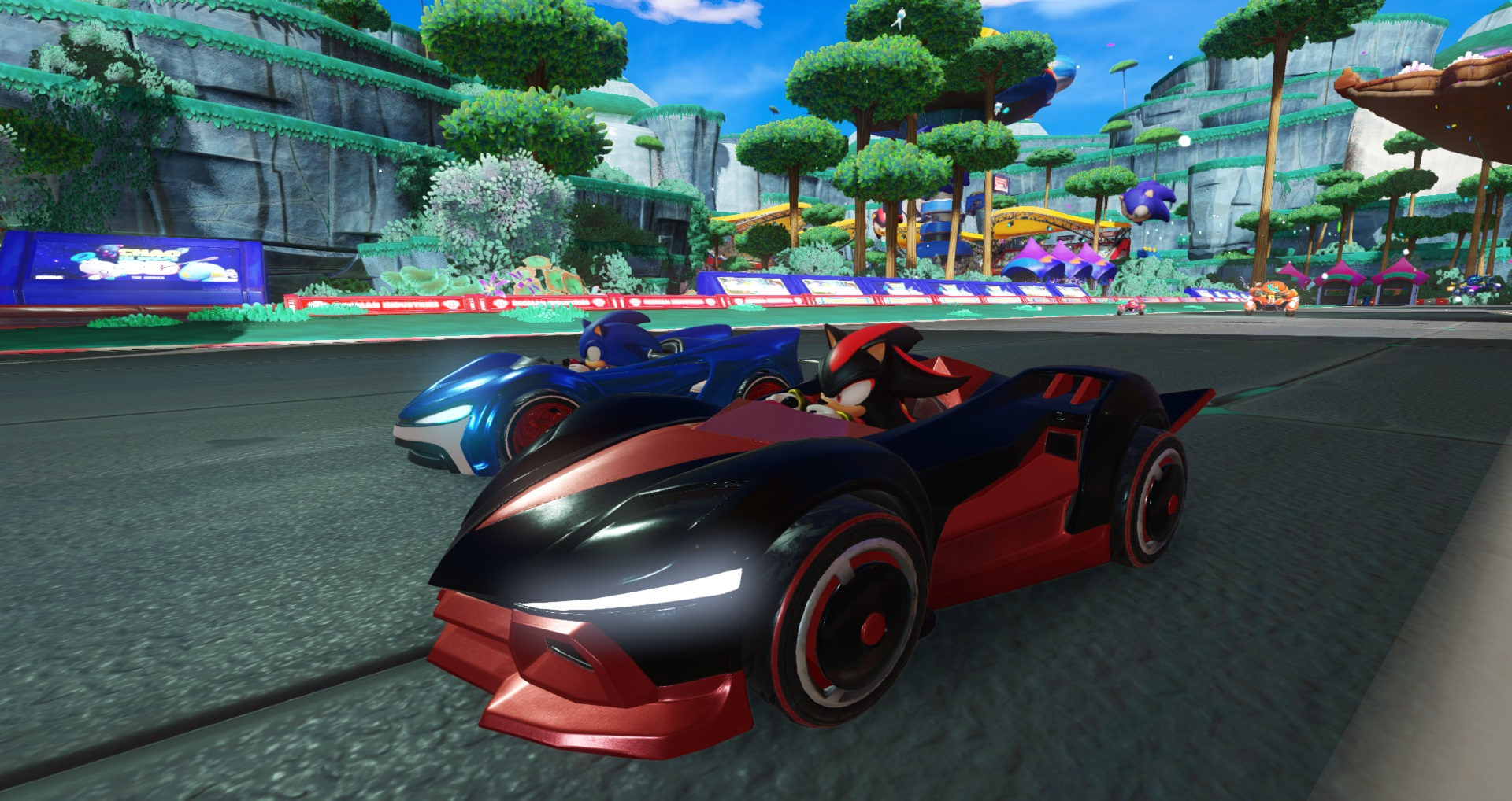 Team Sonic Racing pro Switch