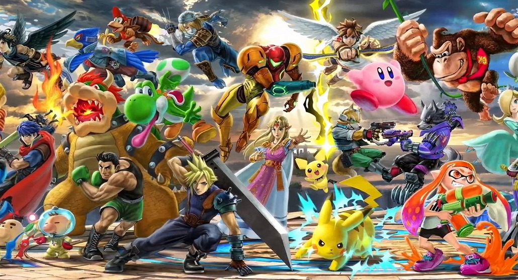 Super Smash Bros. Ultimate pro Switch
