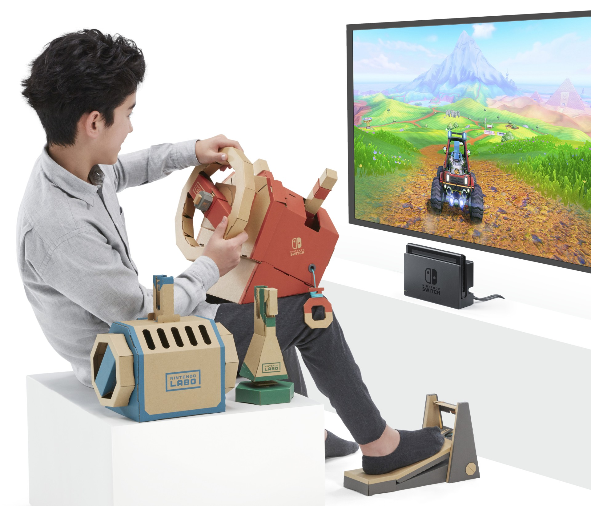 Nintendo Switch - Nintendo Labo: Vehicle Kit