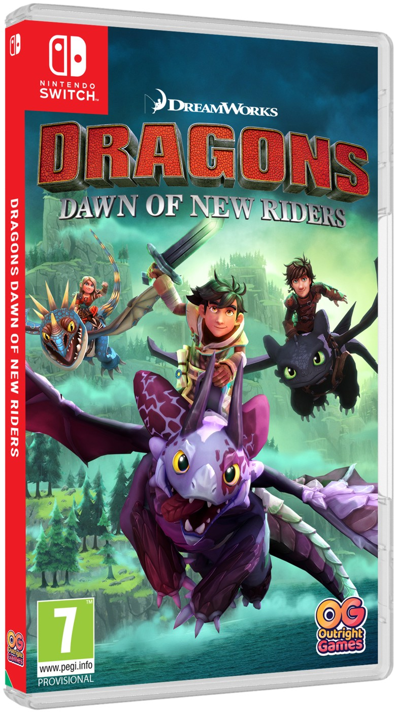 Dragons Dawn of New Riders (Jak vycvičit Draka) - Switch