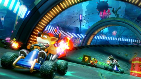Nintendo Switch - Crash Team Racing Nitro-Fueled