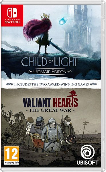 detail Child Of Light + Valiant Hearts: The Great War (Double Pack) Switch