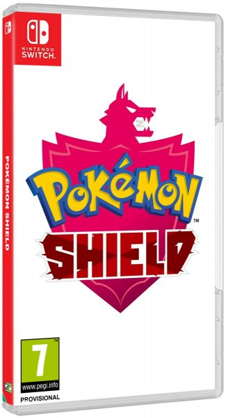 detail Pokémon Shield - Switch