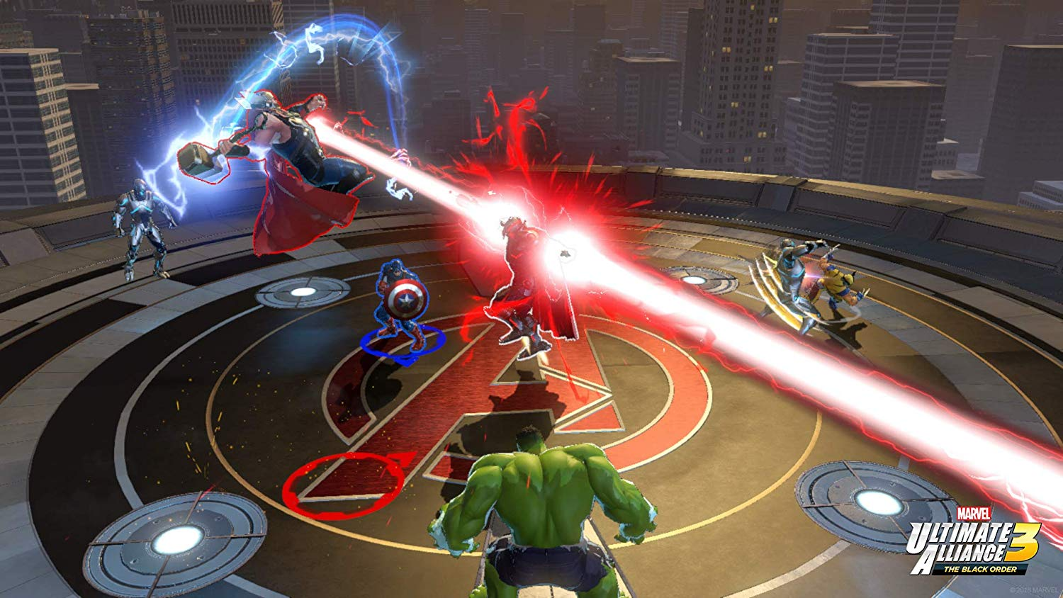 Nintendo Switch - Marvel Ultimate Alliance 3: The Black Order