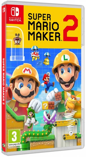 detail Super Mario Maker 2 - Switch
