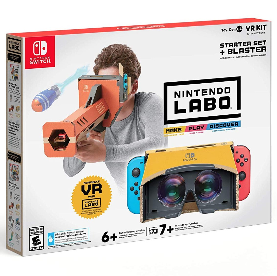Nintendo Labo VR Kit - Starter Set+Blaster - Switch