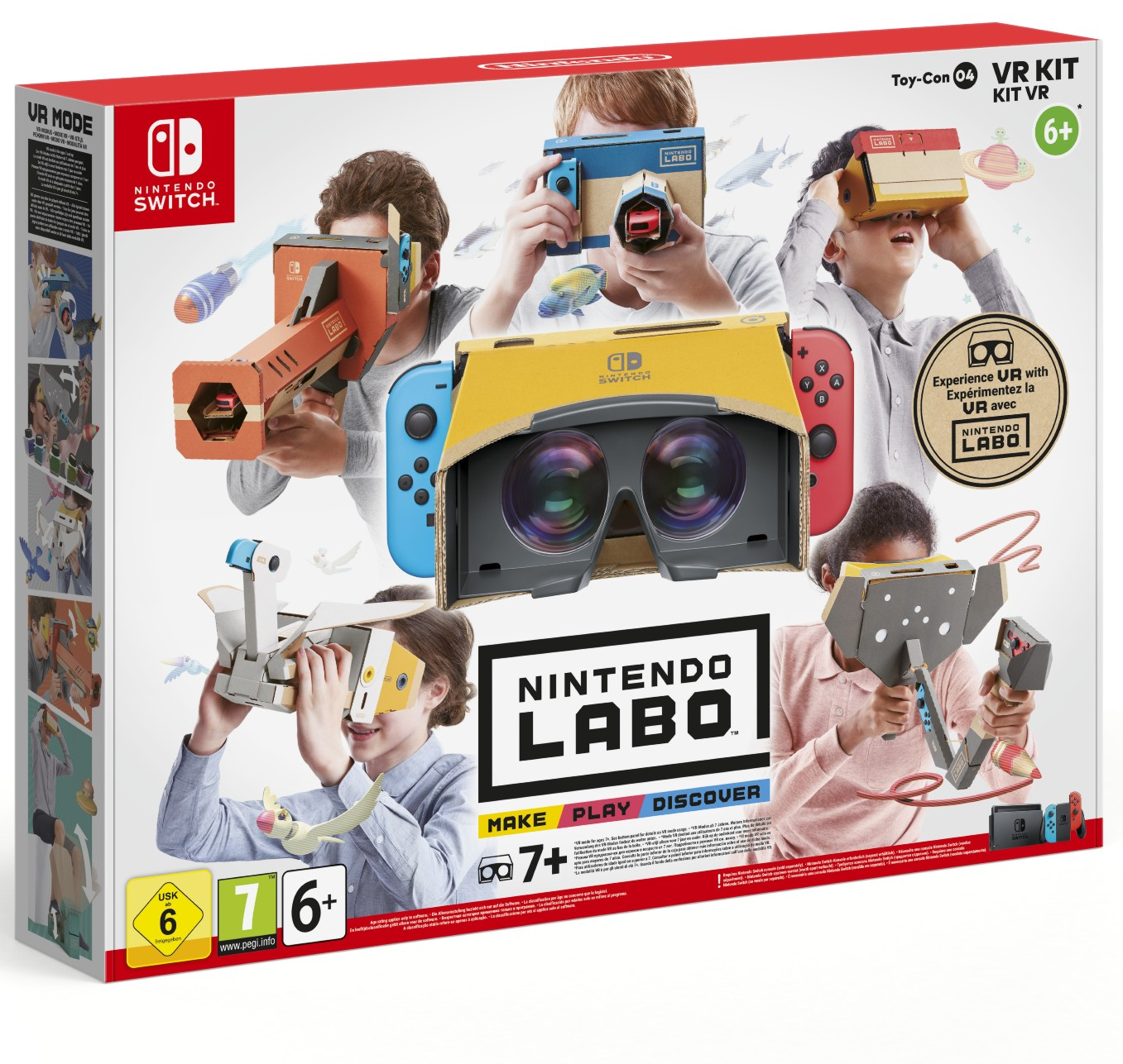 Nintendo Labo VR Kit: Toy-con 04 Complete - Switch
