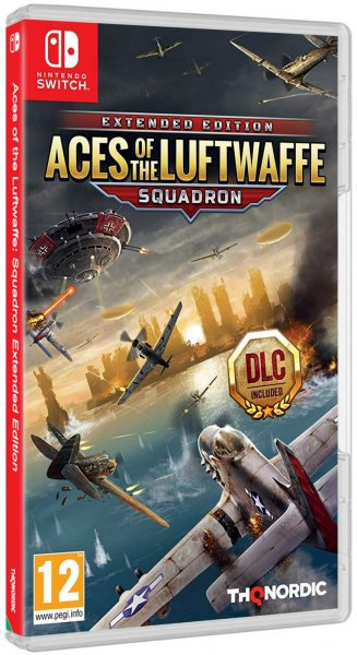 detail Aces of the Luftwaffe: Squadron Extended Edition - Switch
