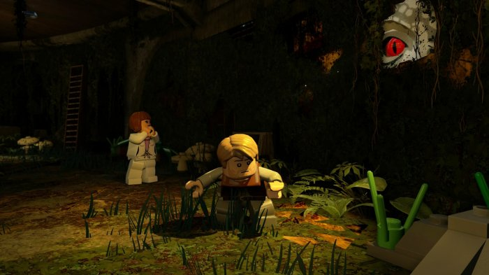detail LEGO Jurassic World - Switch