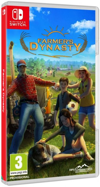 detail Farmer's Dynasty - Switch
