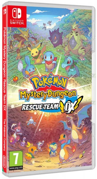 detail Pokémon Mystery Dungeon: Rescue Team DX - Switch