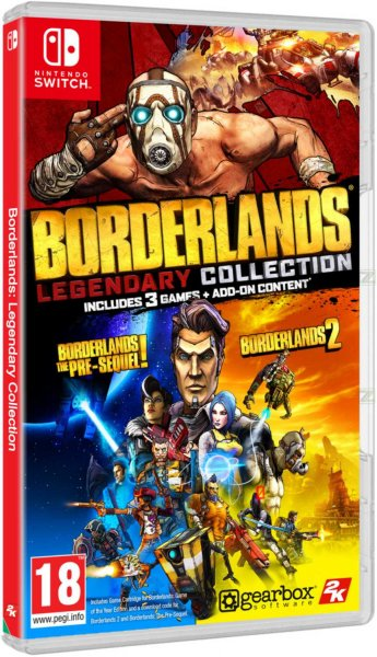 detail Borderlands: Legendary Collection - Switch