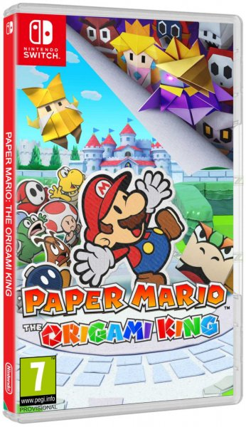 detail Paper Mario: Origami King - Switch