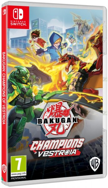 detail Bakugan: Champions of Vestroia - Switch