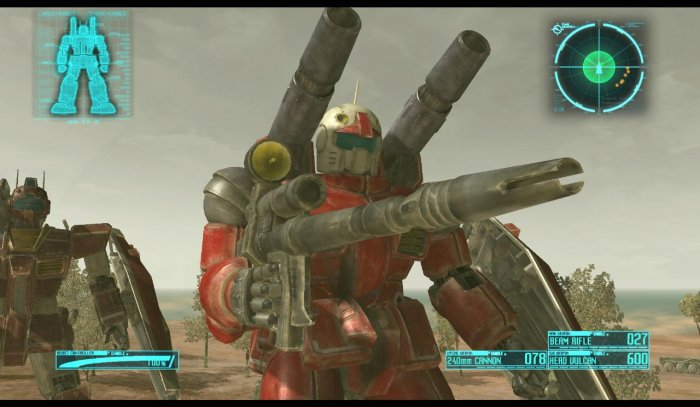 detail MOBILE SUIT GUNDAM: TARGET IN SIGHT - PS3