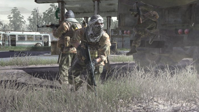 detail CALL OF DUTY 4: MODERN WARFARE - PS3