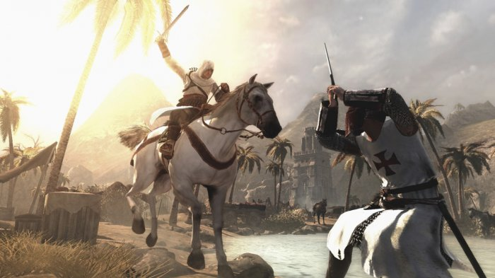 detail Assassins Creed 1 - PS3