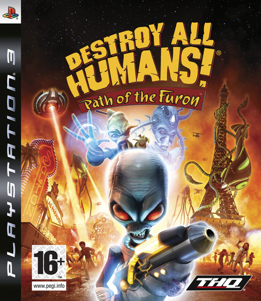 DESTROY ALL HUMANS! PATH OF THE FURON - PS3