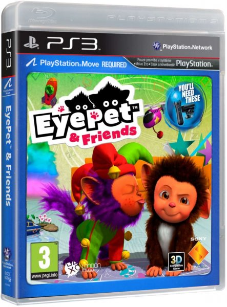 detail Eyepet & Friends - PS3 MOVE