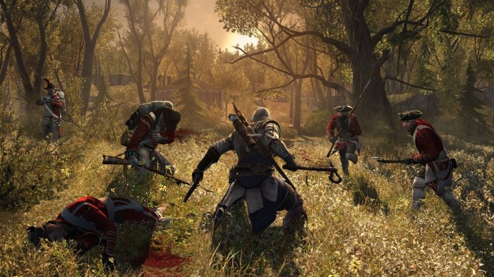 detail ASSASSINS CREED III - PS3