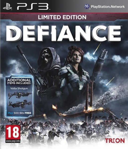 detail DEFIANCE LIMITED EDITION - PS3