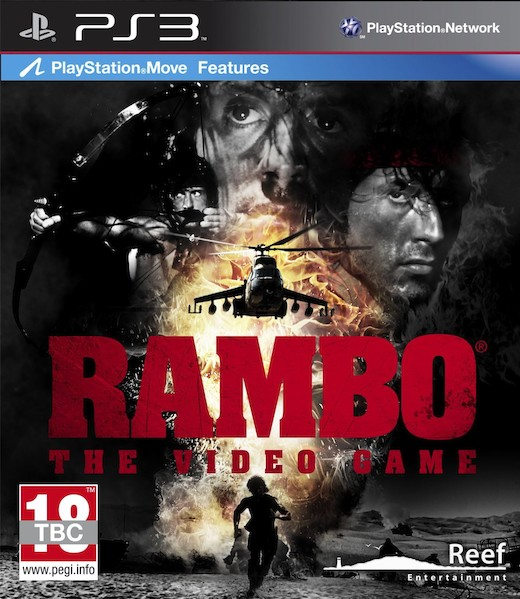 RAMBO: THE VIDEO GAME - PS3 MOVE