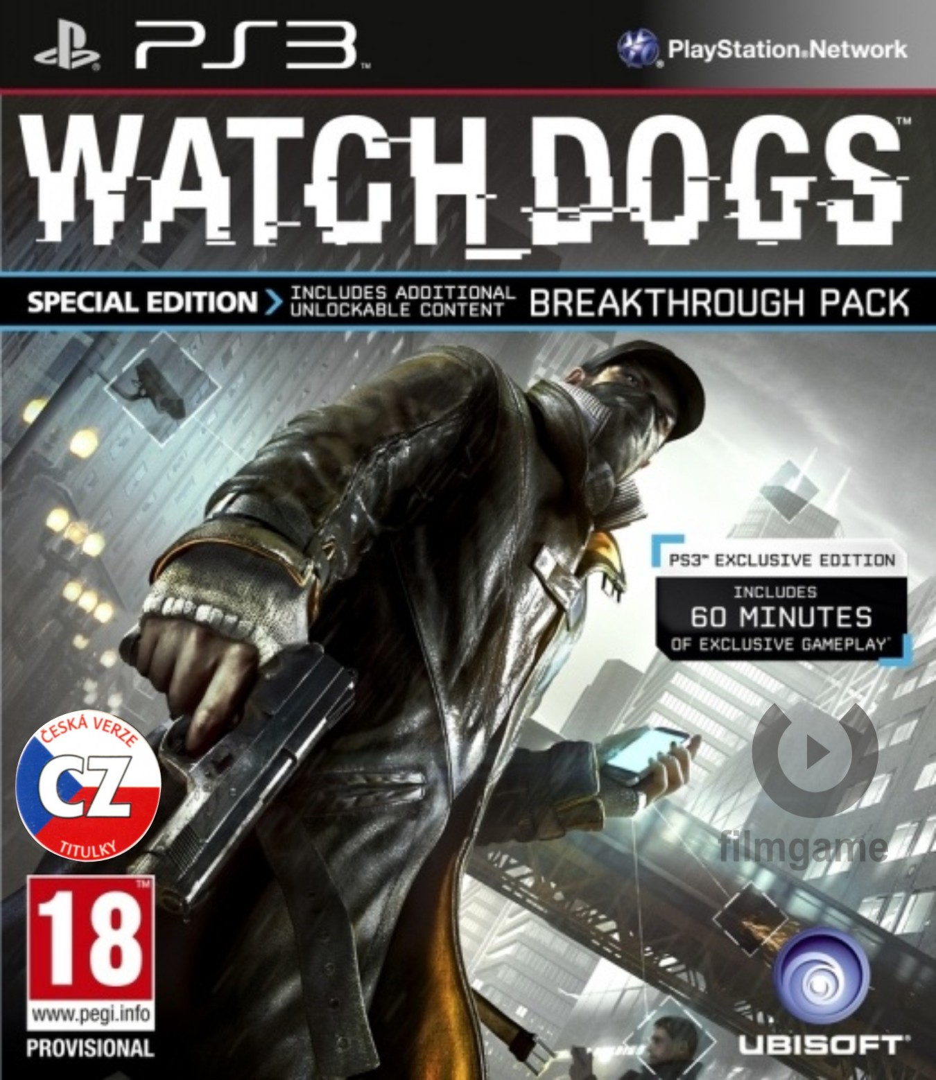 WATCH DOGS SPECIAL EDITION CZ - PS3