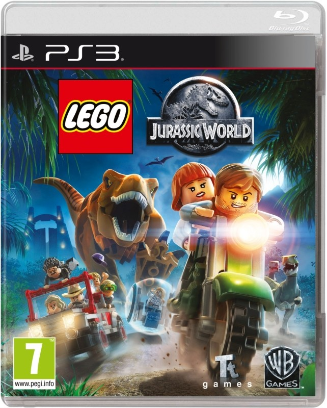 LEGO JURASSIC WORLD GAME - PS3