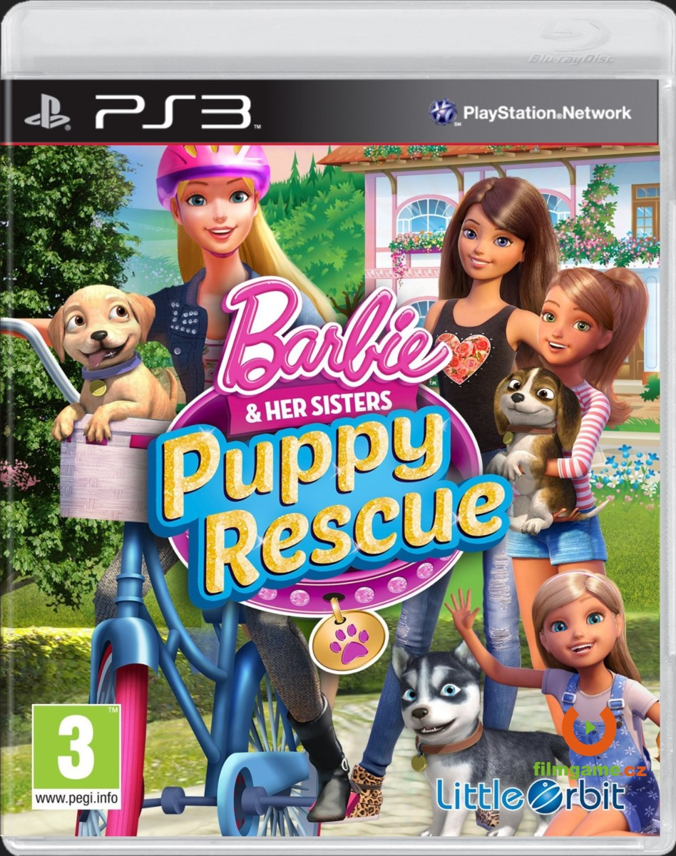 BARBIE AND HER SISTERS: PUPPY RESCUE - PS3