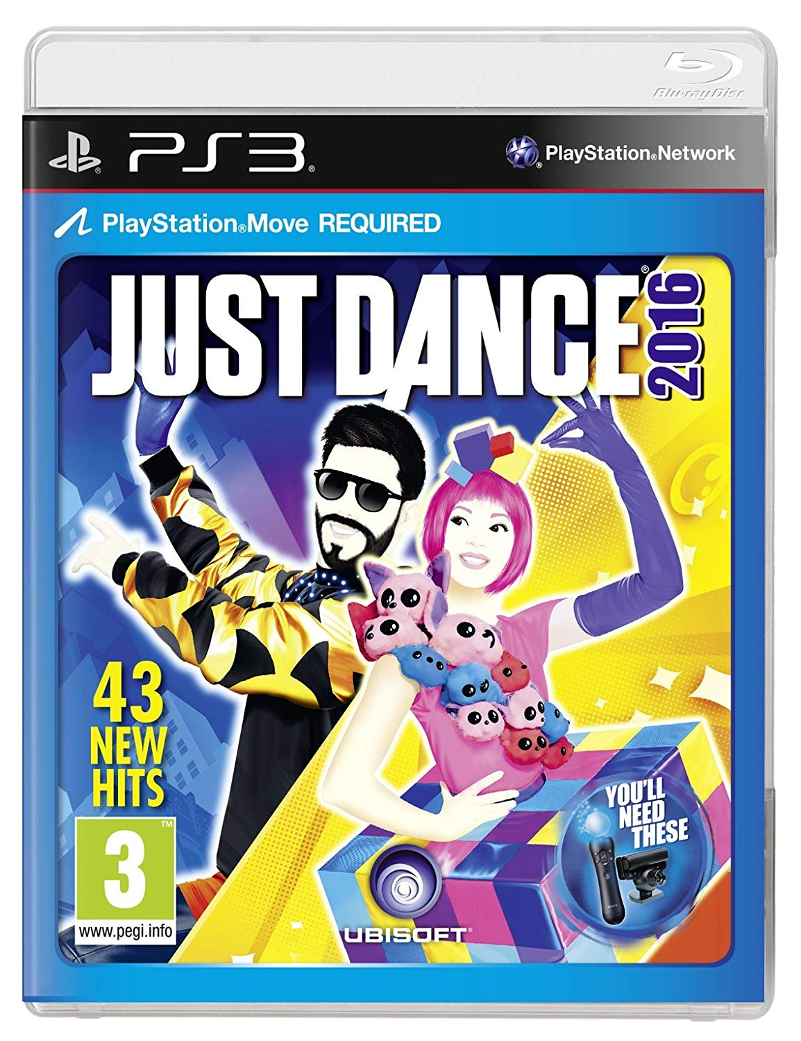 JUST DANCE 2016 - PS3 Move