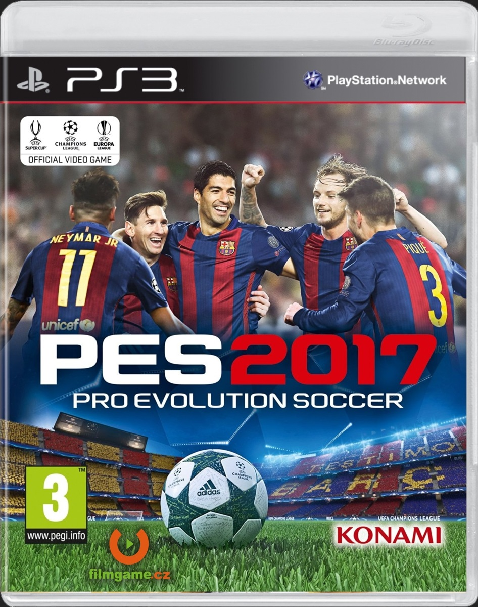 PRO EVOLUTION SOCCER 2017 - PS3