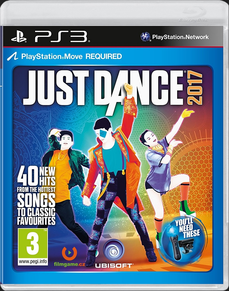JUST DANCE 2017 - PS3 MOVE