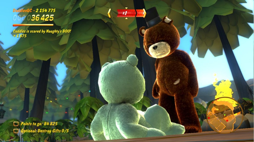NAUGHTY BEAR - Double Trouble pro PS3