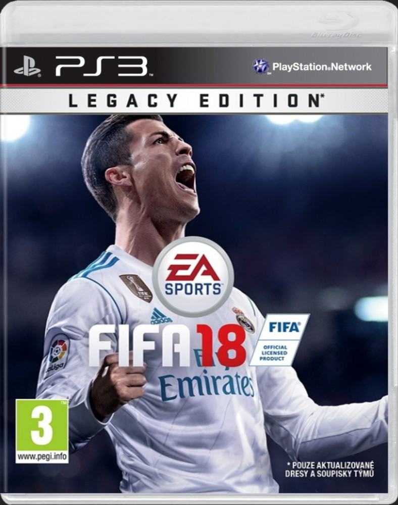 FIFA 18 (Legacy Edition) - PS3