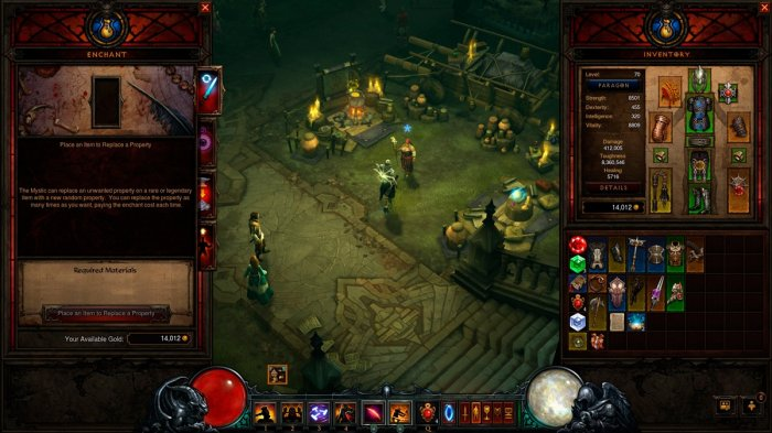 detail DIABLO III - ULTIMATE EVIL EDITION - PS4