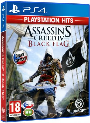 Assassins Creed IV: Black Flag Playstation Hits CZ - PS4