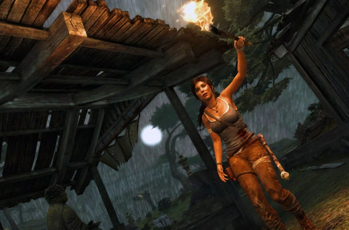 detail Tomb Raider Definitive Edition - PS4